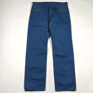 Levi's 501 Button Fly Straight Leg 36 X 32 Jeans